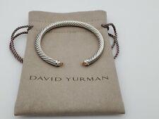 David Yurman Cable Classics Bracelet with Morganite and Diamonds 5mm size Small