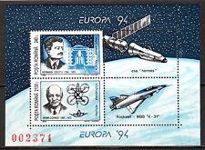 Romania - 1994 Europa Cept / Discoveries Mi. Bl. 289 MNH