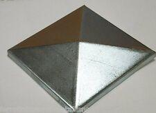 copripilastri tappo quadro in ferro zincato coperchio fai da te fabbro FU.COP150