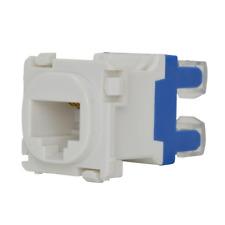 CAT6 CAT5e RJ45 Connector Mech Insert for Wall Plate suits Clipsal plates x 4