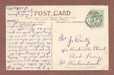 J.Carty  40 Rockville Street  Rock Ferry,  Birkenhead  1905 , Romance    RK1011
