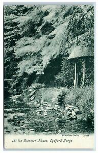 Postcard At The Summer House Lydford Gorge Devon