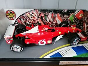 Hot Wheels 1/18 Scale diecast - B7021 Ferrari F2003 M Schumacher 2003