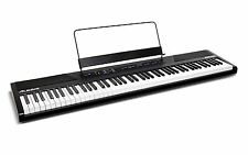 Alesis Recital 88-Key Beginner Digital Piano with Full-Size Semi-Weighted Key
