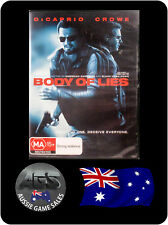 Body of Lies - Leonardo DiCaprio, Russell Crowe  (DVD, VGC, FAST POST)