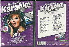 DVD - LE KARAOKE DES ANNEES 90 / ALAIN BASHUNG ZAZIE CRANBERRIES / NEUF EMBALLE