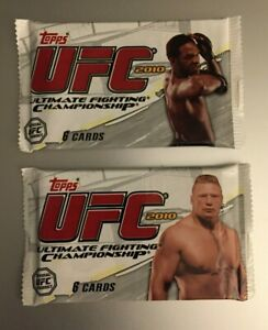 (2) 2010 TOPPS UFC ULTIMATE FIGHTING Guaranteed Relic/Auto/Patch HOT PACKS