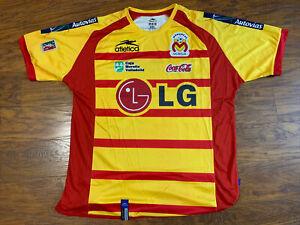Atletica Monarcas Morelia Mexican League Soccer Jersey Men's Size XL Rare