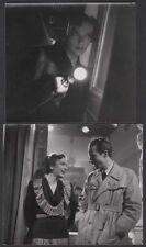 MIREILLE BALIN Film Policier Noir JACQUES BECKER Tournage 2 photos 1942