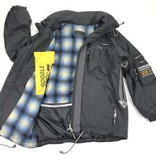 Bogner Kathmandu Mountaineering Mens Hooded Snow Ski Jacket Coat Lined • Size 38