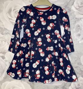 Girls Age 2-3 Years - Long Sleeved Christmas Dress