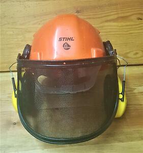 STIHL Forstschutzhelm mit Visier und Gehörschutz ,Sicherheitshelm