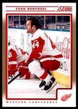 2012-13 Score Gold Todd Bertuzzi #184