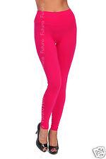 Full Length Leggings Hight Waist Casual Activewear Gym Yoga Pants Sizes 8-20 LWP