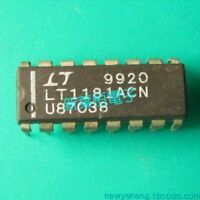 1X LT1181ACN Low Power 5V RS232 Dual Driver/Receiver with 0.1uF Capacitors