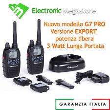 MIDLAND RADIO G7 RICETRSMITTENTI WALKIE TALKIE G7 PMR LPD LAVORO SPORT CACCIA 3W