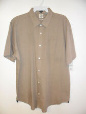 VOLCOM Men's WEIRDOH SOLID S/S Button-Up Shirt - HDE - XXLarge - NWT