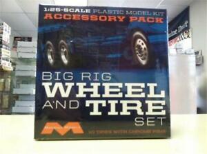 Moebius 1010 Big Rig Wheel & Tire Set