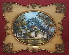 Multi-Color Original Art Houses