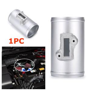 NEW Aluminium Air Flow Sensor Mount Intake Meter Adapter For Honda Ford Nissan