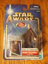 Hasbro 2002 Star Wars Attack of the Clones Anakin Skywalker Hanger Duel figure