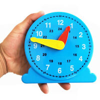 Children Teaching Clock Learning To Tell Time Back Rack Educational Clock