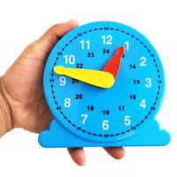Children Teaching Clock Learning To Tell Time Back Rack Educational Clock