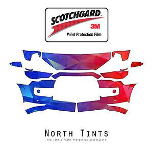 Toyota 4Runner Limited 2014-2020 PreCut 3M Scotchgard Paint Protection Clear Bra