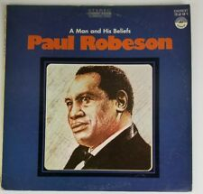 Paul Robeson A Man And His Beliefs everest 3291 LP