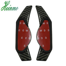 Real Carbon Fiber Steering Wheel Paddle Shifter Extensions For Jaguar Land Rover