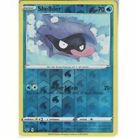 040/202 Shellder Common Reverse Holo Card Pokemon TCG Sword & Shield (Base Set)