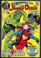 1971 Bronze Age DC Comics Jimmy Olsen #136 1st DUBBILEX!  Adams! Kirby! NICE VG
