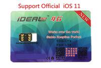 1Pc Unlock Turbo SIM Card For Phone 7 6s 6 Plus 5 LTE IOS 11 10.3.3 GPP R