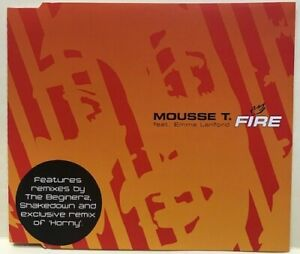 MOUSSE T: FIRE – 7 TRACK CD SINGLE, SHAKEDOWN, THE BEGINERZ, MAX REICH