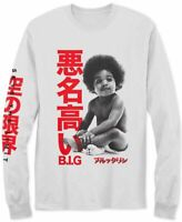 The Notorious B.I.G. Mens T-Shirt Classic White Size XL Biggie Baby $26- 090