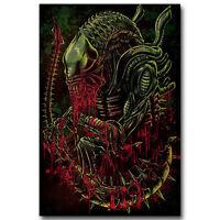 Jason Voorhees Ed Gein TexasChainsaw Movie Film Silk Poster 13x24 24x43 inch