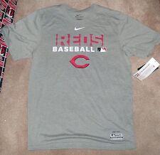 NEW MLB Cincinnati Reds T Shirt NIKE Dri Fit Men S Small NEW NWT