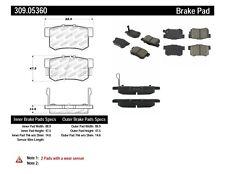 Disc Brake Pad Set-AWD Rear Stoptech 309.05360