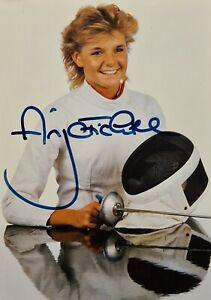 Autogramm Anja Fichtel