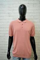 MASSIMO DUTTI Polo Maglia Uomo Taglia 2XL Maglietta Shirt Herrenhemd Cotone Hemd