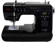 Nähmaschine 300 , AEG , elektrisch nur einmal benutzt , schwarz, 99 Nähprogramme