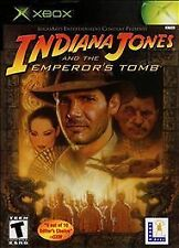 Indiana Jones and the Emperor's Tomb (Microsoft Xbox, 2003) DISC ONLY SCRATCH FR