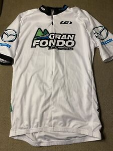 Men's Louis Garneau Gran Fondo Mont-Tremblant Cycling Bike Jersey Large L