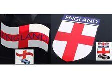 2 Angleterre Voiture Porte Drapeau Magnétique St George Coupe Du Monde 2 Modèles