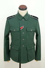 WWII German M42 elite summer HBT reed green field tunic M