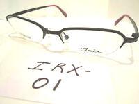 New iTrix Eyeglass Frames Half Rimless Titanium  (IRX-01)