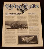 Disneyland Disneyana Collector Newsletter 1985 Walt Disney Skyfest Captain EO