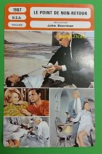 US Neo Noir Crime Film Point Blank Lee Marvin  French Film Trade Card