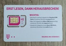 1 X ONE T-MOBILE XTRA TELEKOM PREPAID SIM CARD ACTIVE AND REGISTERED