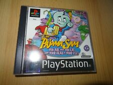 Pajama Sam Playstation 1 PS1 pal mint collectors